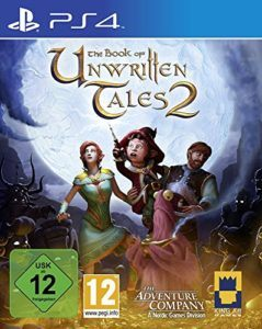 Book of Unwritten Tales 2 Cover