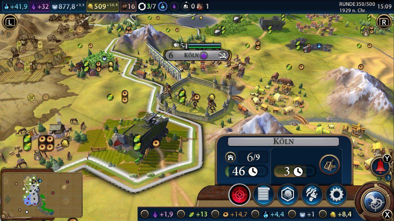 Sid Meier's Civilization VI für Nintendo Switch im Test