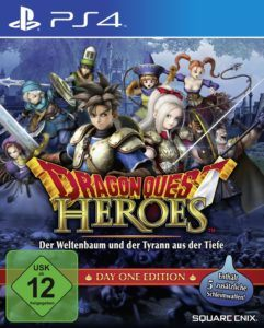 Dragon Quest Heroes Cover
