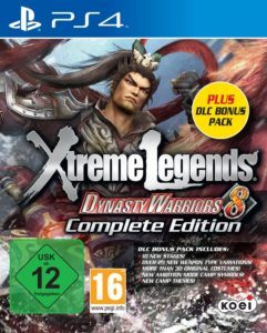 Dynasty Warriors 8 Cover