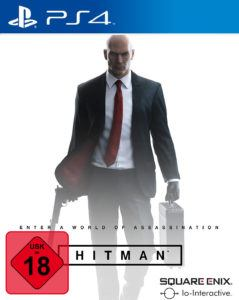 Hitman Front Cover PS4