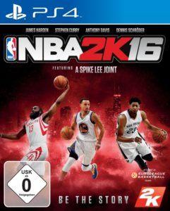 NBA 2K16 Cover