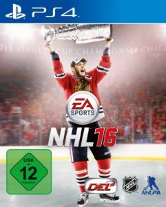 NHL 16 Cover