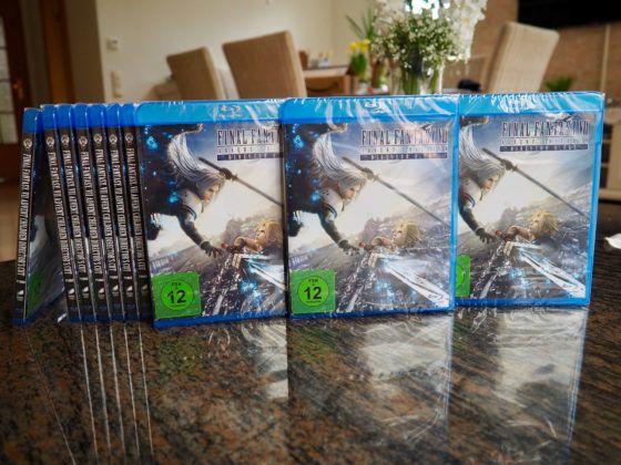 Final Fantasy Advent Children BluRay