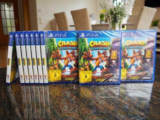 Crash Bandicoot NSane Trilogy