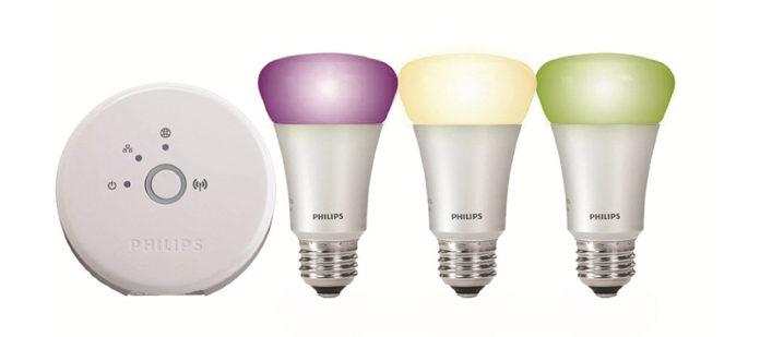 im test philips hue starter set led lampen ps4source. Black Bedroom Furniture Sets. Home Design Ideas