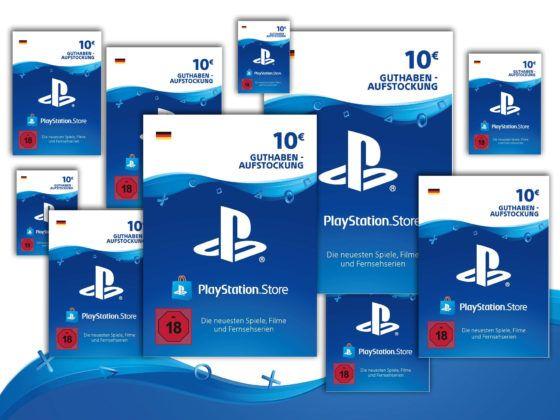 PlayStation Store Guthaben 10€