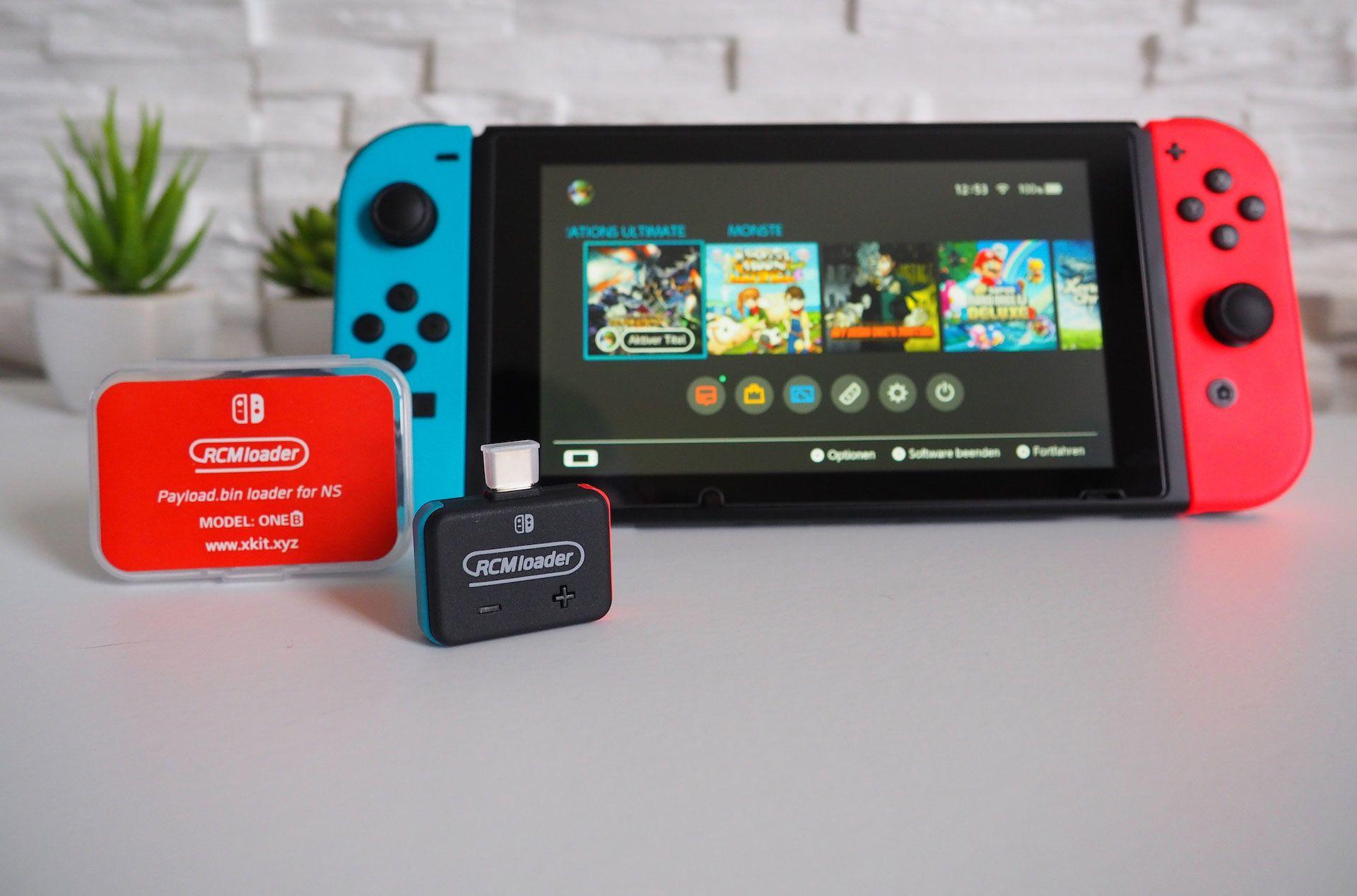 RCMloader - Anleitung zur Freischaltung der Nintendo Switch