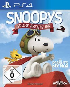 Snoopy Abenteuer Cover