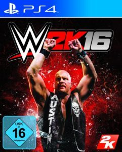 WWE 2k16 Cover