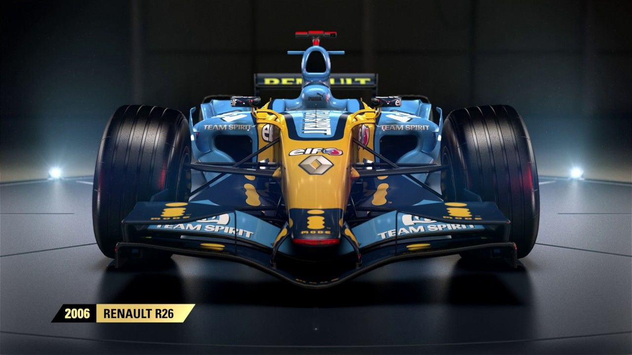 f1 2017 enth lt siegerfahrzeug von alonso aus der f1 saison 2006 ps4source. Black Bedroom Furniture Sets. Home Design Ideas