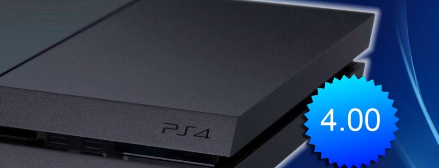 ps4 firmware 4.00